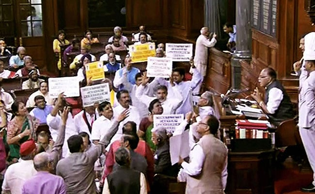Rajya Sabha Heads For A Washout; No Bills Passed On Day 21 Of Budget Session