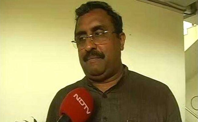 'Karma Catches All, Spares None': BJP's Ram Madhav To Congress-JD(S)