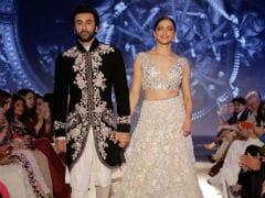 Mijwan 2018: Deepika Padukone And Ranbir Kapoor Walk Ramp Hand-In-Hand For Manish Malhotra
