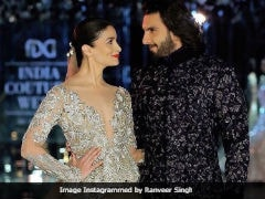 Alia Bhatt Just Wished Ranveer Singh A 'Speedy Recovery', His Reply Is Too Cute