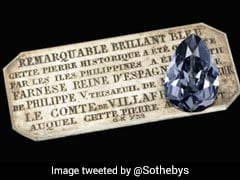 Rare Blue Diamond, Taken From India, Set To Be Auctioned