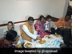 On Ambedkar Jayanti, Ravi Shankar Prasad Has Lunch With Dalits At 5-Star Hotel