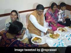 केंद्रीय मंत्री रविशंकर प्रसाद ने 5 सितारा होटल में दलितों के साथ किया लंच, जानिए क्या है कारण