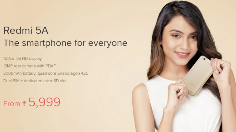 Xiaomi Redmi 5A और Redmi Note 5 को आज खरीदने का मौका