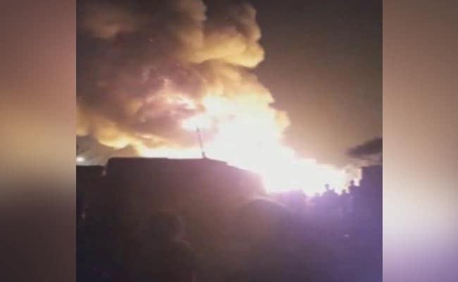 Massive Fire Destroys Rohingya Refugee Camp In Delhi