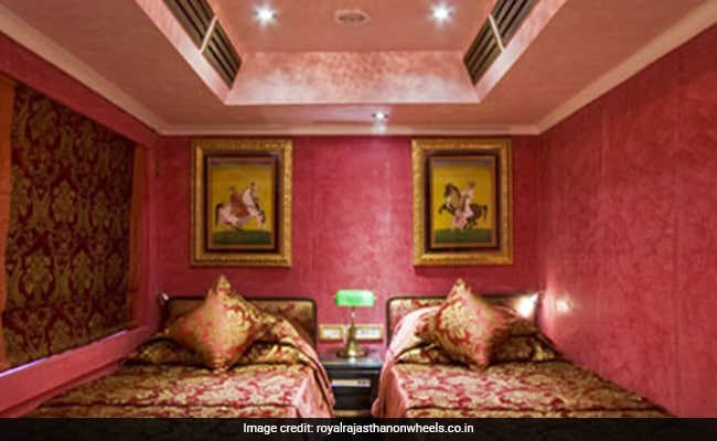 Indian Railways Luxury Tourist Train 'Royal Rajasthan On Wheels' In PICTURES