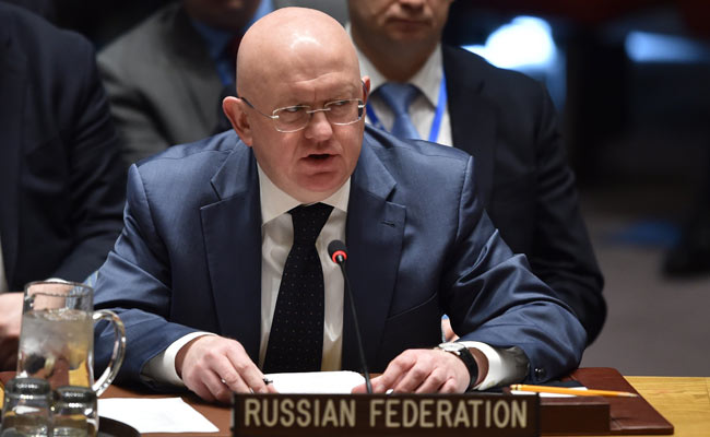 Russian Federation  says US-led attack on Syria will hit peace talks