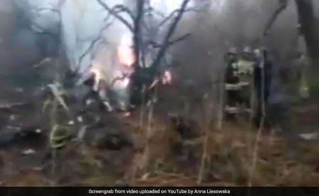 6 Killed As Russian Helicopter Crashes In East Russian City Of Khabarovsk