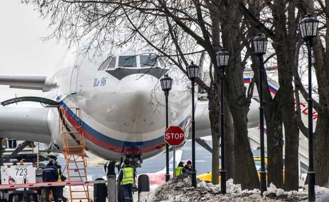 Plane Carrying Russian Diplomats Expelled From US Lands In Moscow