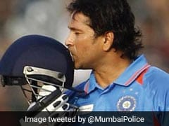 On Sachin Tendulkar's Birthday, A Masterstroke Tweet From Mumbai Police