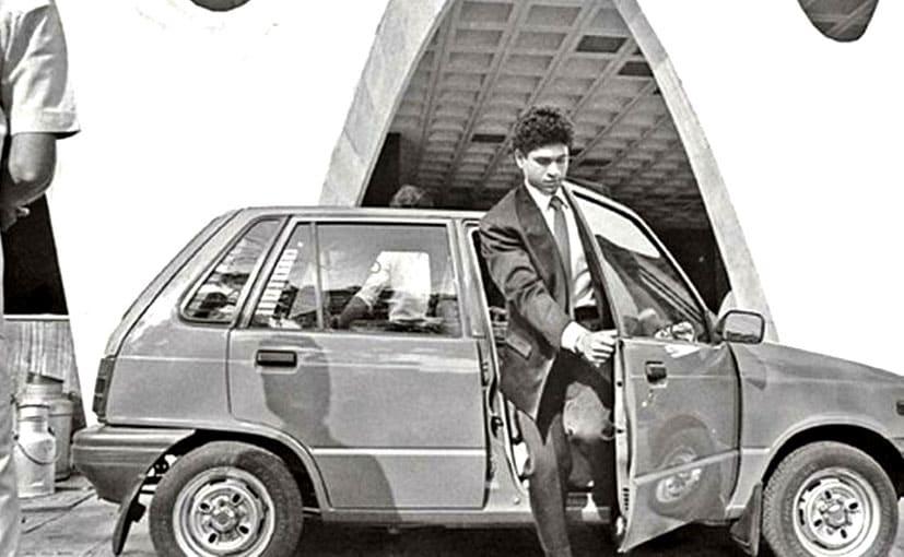 সচিনের প্রথম গাড়ি Maruti 800