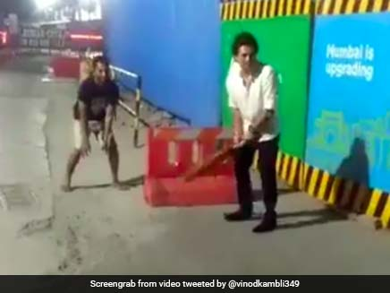 Watch: Sachin Tendulkar Stuns Fans By Joining Them For A Game Of