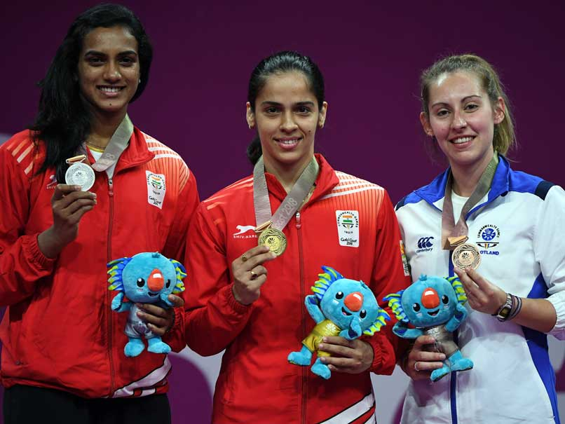 CWG: Aggressive Saina clinches women's singles gold; Srikanth settles for silver
