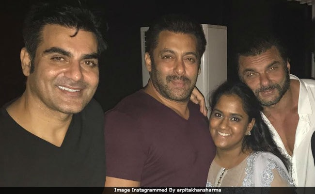 To Salman Khan, From Sister Arpita: 'Shine Even Brighter Than You Are'