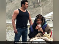 Salman Khan, Jacqueline Fernandez Shoot <i>Race 3</i> In Icy Ladakh. But Salman Is Dressed For Summer