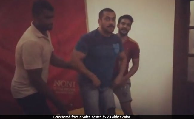 Watch: Salman Khan Performing A Perfect Backflip During Sultan Training Session