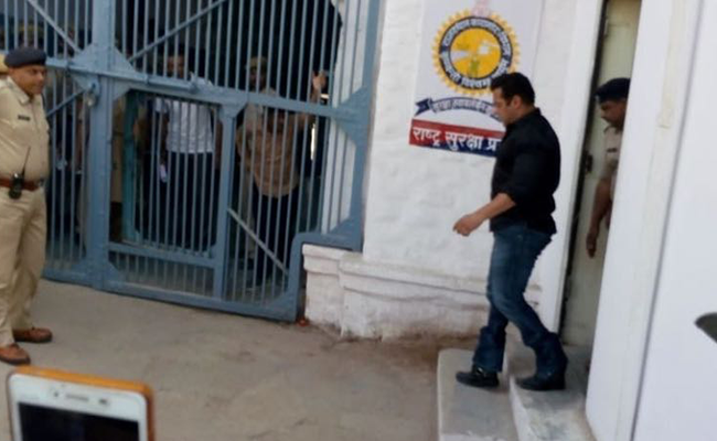 Salman Khan, Prisoner No. 106, Spends Night In Jodhpur Jail