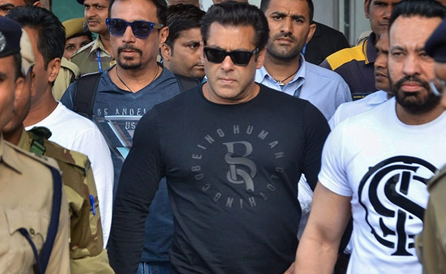Salman Khan, Other Actors In Jodhpur For Tomorrow's Verdict In Blackbuck Poaching Case