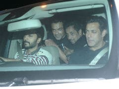 Back In Mumbai, Salman Khan Attends <i>Race 3</i> Co-Star's Birthday. See Pics