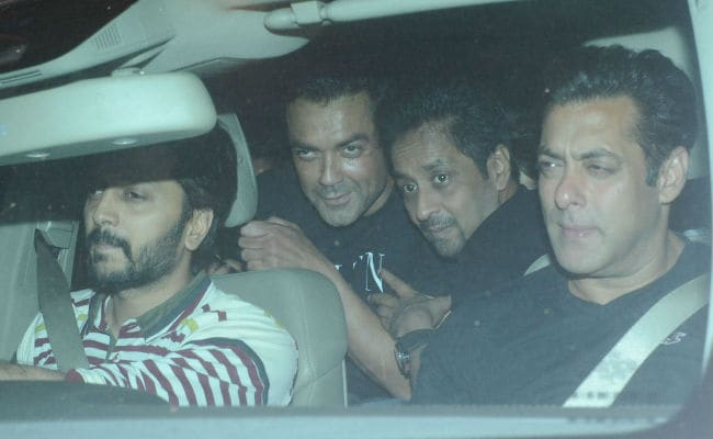 Back In Mumbai, Salman Khan Attends Race 3 Co-Star's Birthday. See Pics