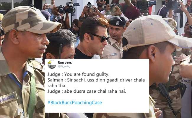 Salman Khan काला हिरण शिकार मामले में दोषी करार, ट्विटर पर मिल रहा ऐसा रिएक्शन