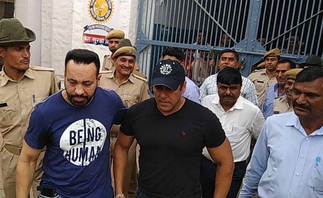 Salman Khan Back In Mumbai After Spending 2 Nights In Jodhpur Jail