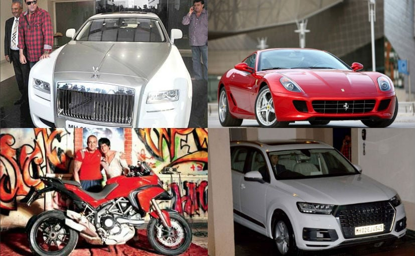 Sanjay Dutt's Exotic Car Collection