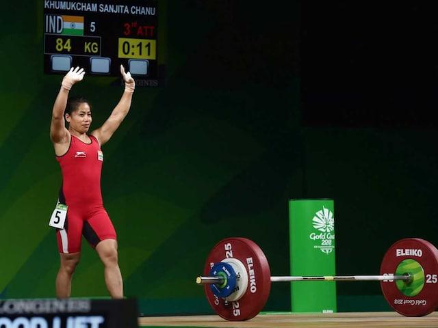 Commonwealth Games 2018: Sad I Couldnt Break All Games Records, Says Sanjita Chanu
