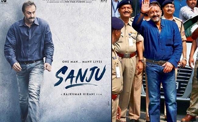 'संजू' का नया पोस्टर हुआ रिलीज, इस अंदाज में नजर आए रणबीर कपूर