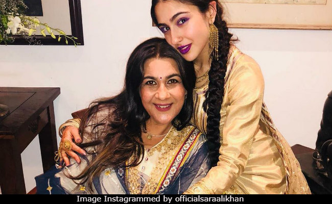 Sara Ali Khan And Mom Amrita Singh Set The Gold Standard Of Twinning Goals