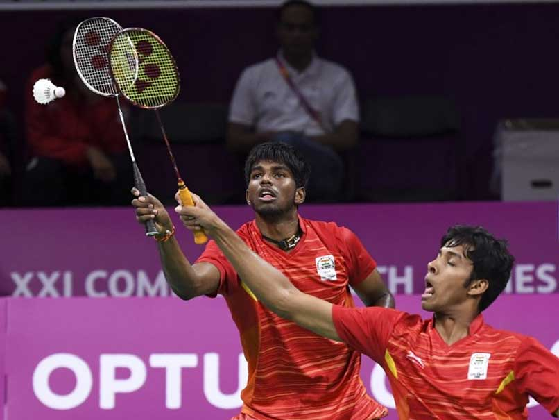 Commonwealth Games 2018: Satwik Rankireddy-Chirag Shettys Mens Doubles Badminton Silver Ends Indias Campaign
