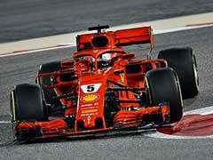 Bahrain Grand Prix 2018: Ferrari's Sebastian Vettel Takes Pole Ahead Of Teammate Kimi Raikkonen