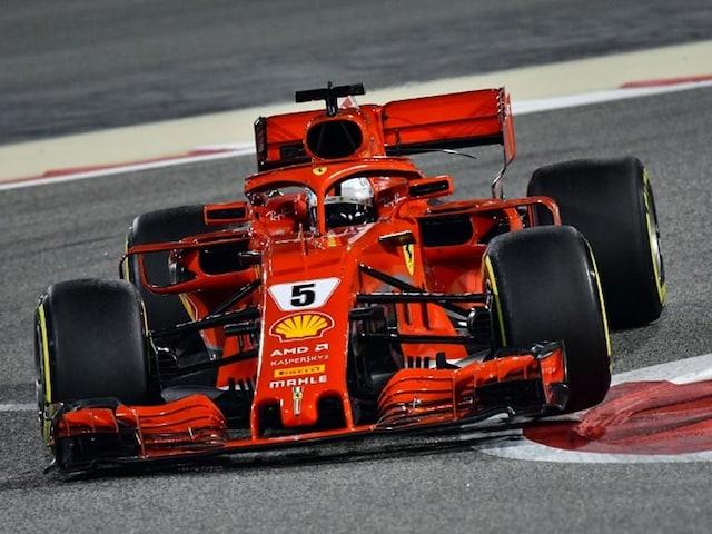 Bahrain Grand Prix 2018: Ferraris Sebastian Vettel Takes Pole Ahead Of Teammate Kimi Raikkonen