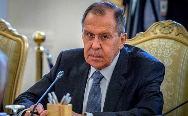 Sergei Lavrov says Skripals may have been poisoned by substance Russia never made