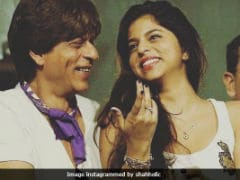 Shah Rukh Khan And Suhana's Joyous Pics After KKR's Win Are Going Viral