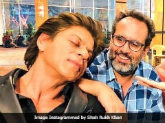 'Shah Rukh Khan Has A Childlike Energy On Set,' Says <i>Zero</i> Director Aanand L Rai