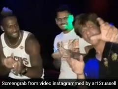 IPL 2018: KKR के साथ Shah Rukh Khan ने की पार्टी, किया 'छम्मक छल्लो' पर डांस