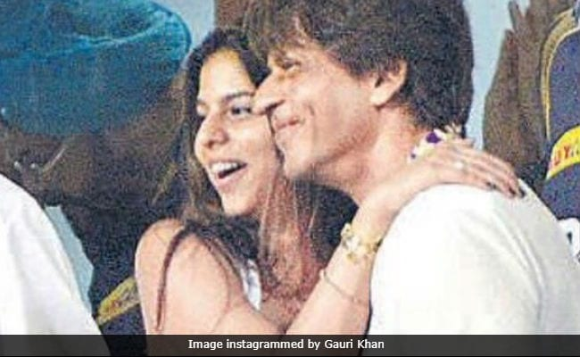Shah Rukh Khan And Suhana's Smiles Are Infectious (Pic Courtesy, Gauri Khan)