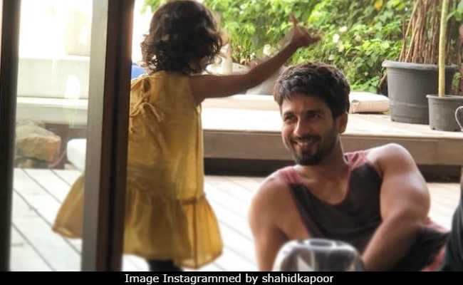 Nothing To See Here, Just Shahid Kapoor And Misha Chilling At Home
