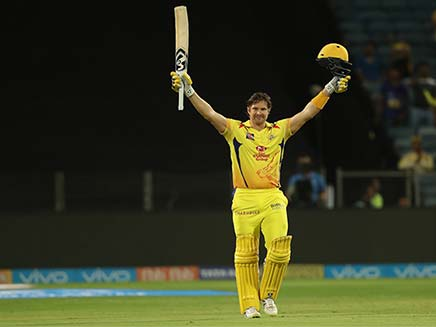 IPL 2018: Shane Watson Smashes Ton in Chennai Super Kings