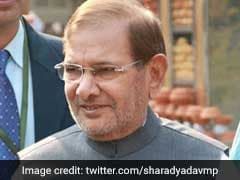 Sharad Yadav's Janata Dal Faction Announces New Party 'Loktantrik Janata Dal'