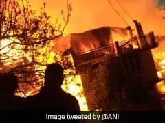 Massive Fire In Shimla Village Leaves 50 Families Homeless