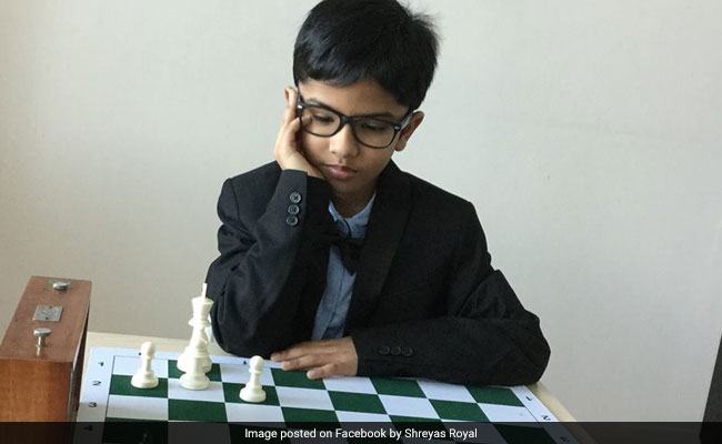 shreyas royal chess prodigy facebook