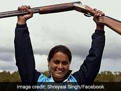 Know About Shreyasi Singh, Indian Shooter Who Won Double Trap Gold At CWG 2018