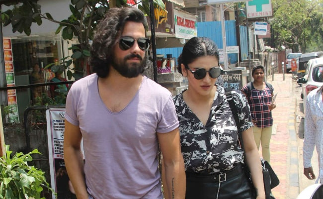 Shruti Haasan And Rumoured Boyfriend Michael Corsale Spend Time Together In Mumbai. See Pics