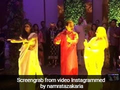 बेटी श्वेता के साथ डांस फ्लोर पर उतरीं जया बच्चन, 'पल्लू लटके' पर जमकर लगाए ठुमके; देखें Video