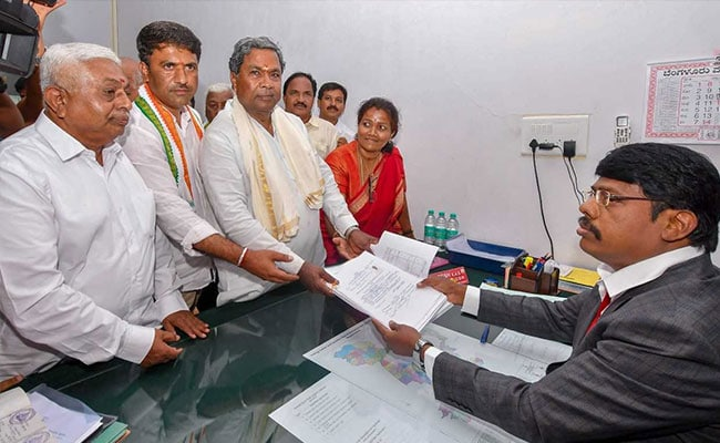 Not Yeddyurappa's son, but another BJP leader submits affidavit from Varuna
