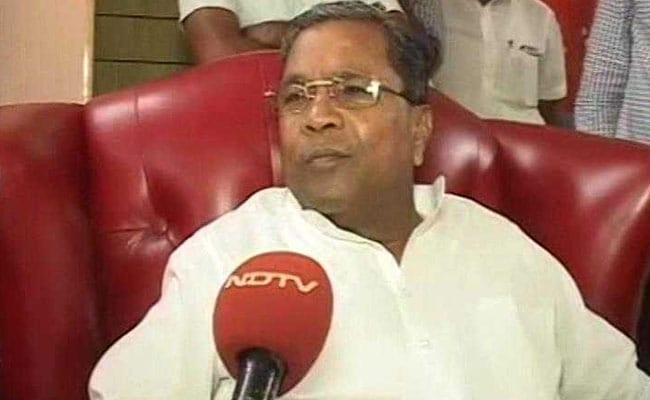 Contesting From 'Risky' Seat In Mysuru, Siddaramaiah Hints At Plan B
