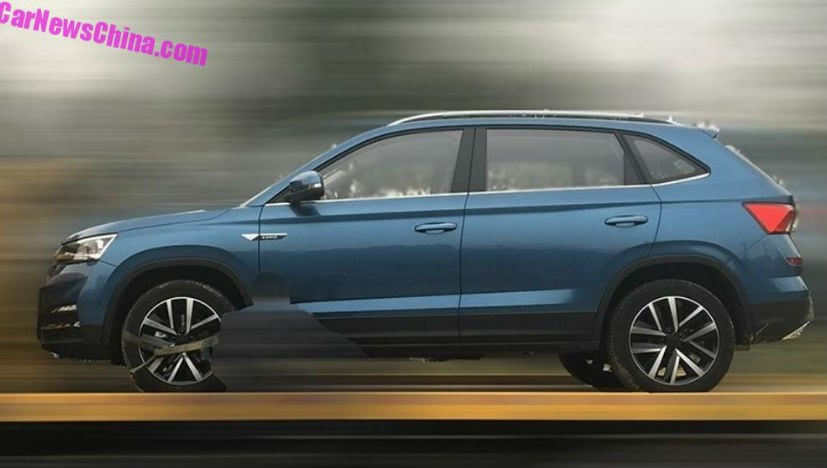 skoda kamiq leaked china