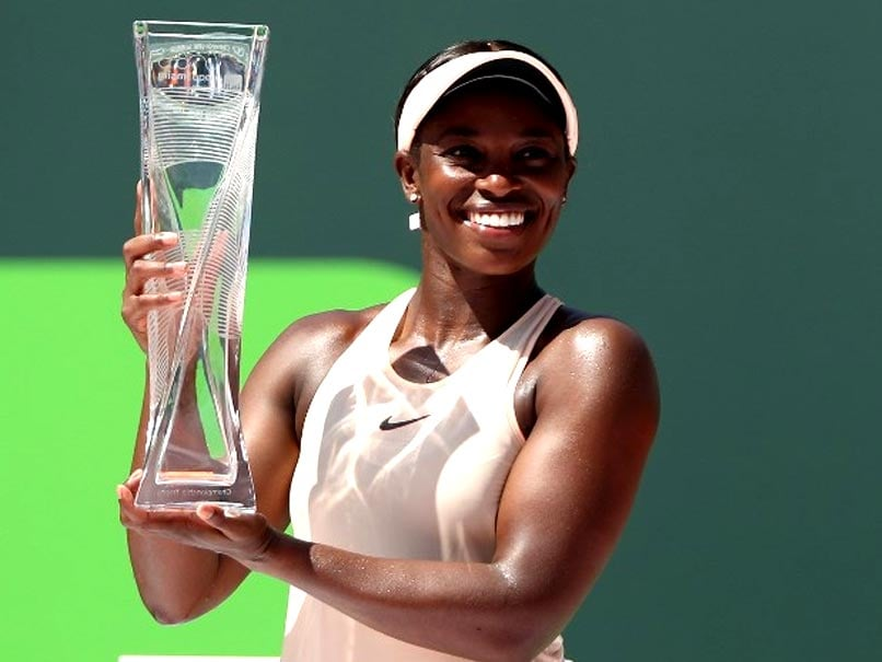 Miami Open: Sloane Stephens Downs Jelena Ostapenko To Win Title